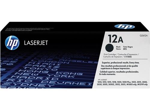 HP Toner schwarz Q2612A
