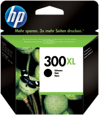 HP Tinte schwarz 300 XL CC641EE