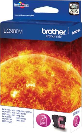 Brother Tinte magenta LC980M