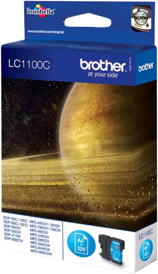 Brother Tinte cyan LC1100C