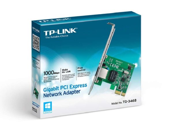 TP-Link Network Adapter PCI-E 10/100/1000M TG-3468