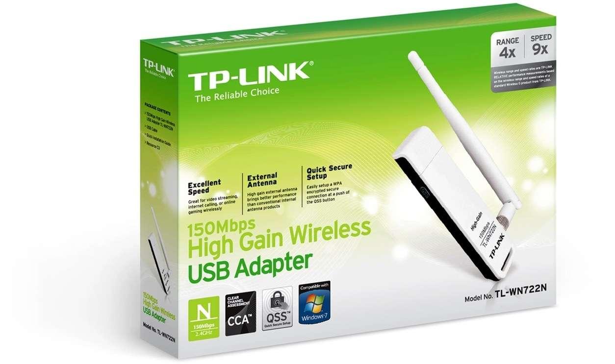TP-Link Wireless USB Adapter Lite N 150M TL-WN722N