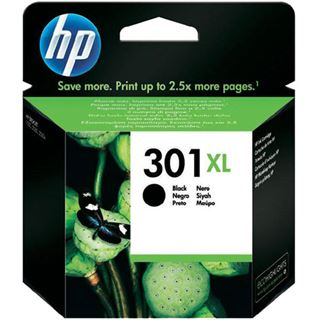 HP Tinte black 301XL CH563EE