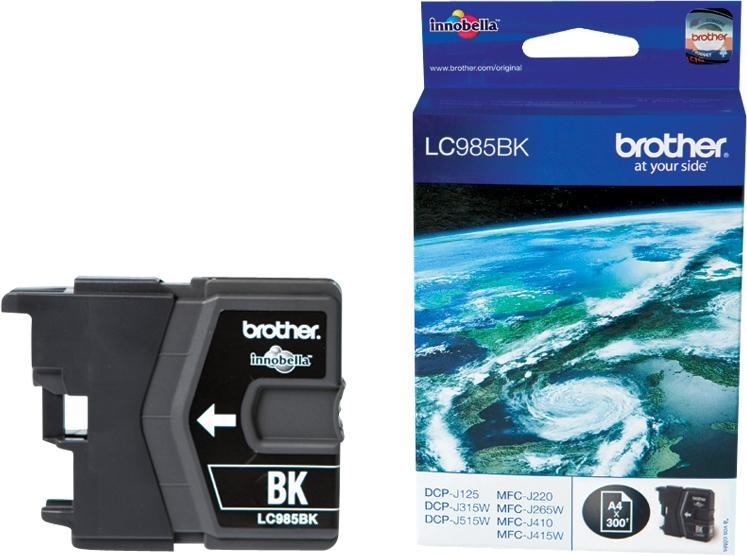 Brother Tinte schwarz LC985BK