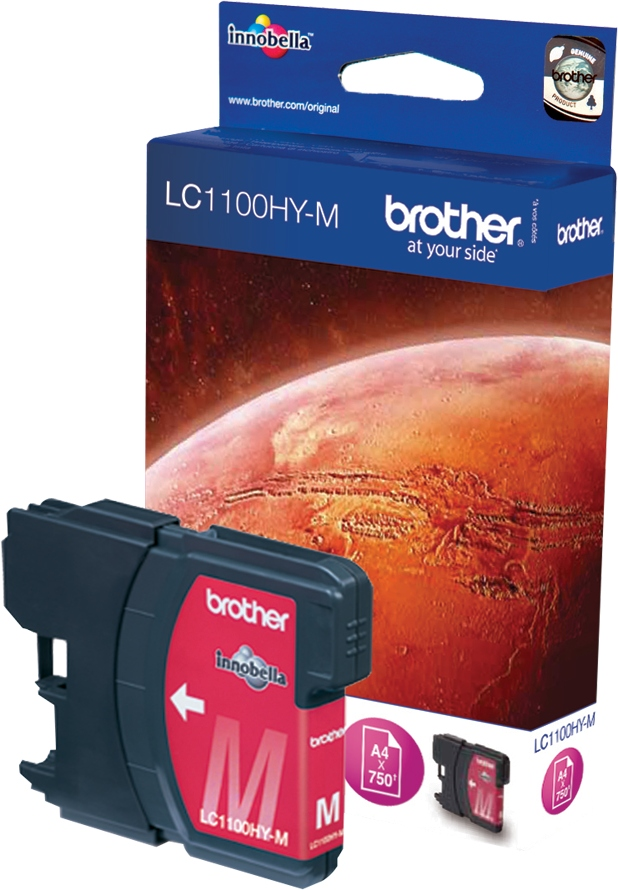 Brother Tinte magenta LC1100HYM