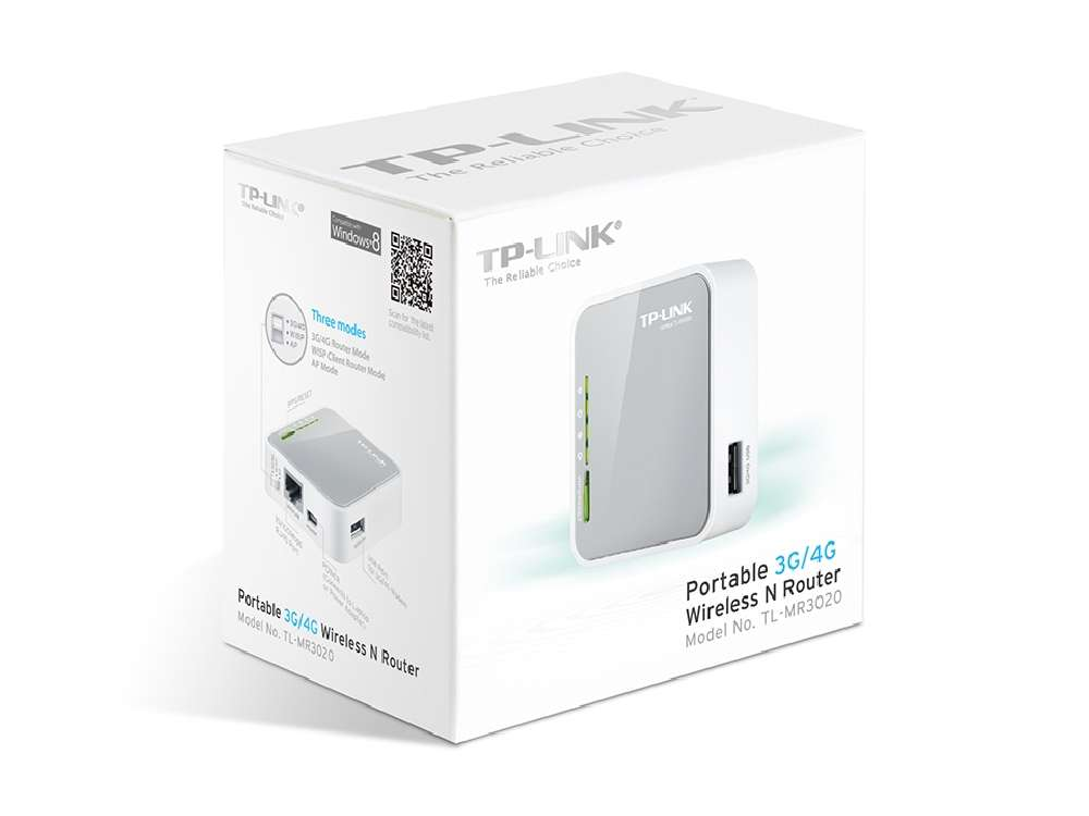 TP-Link Wireless Router 3G 150M TL-MR3020