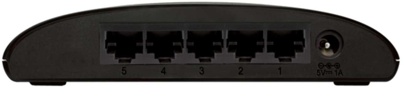 D-Link Switch 5-port 10/100 DES-1005D/E