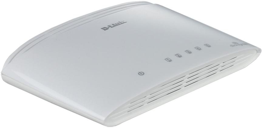 D-Link Switch 5-port 10/100/1000 DGS-1005D/E