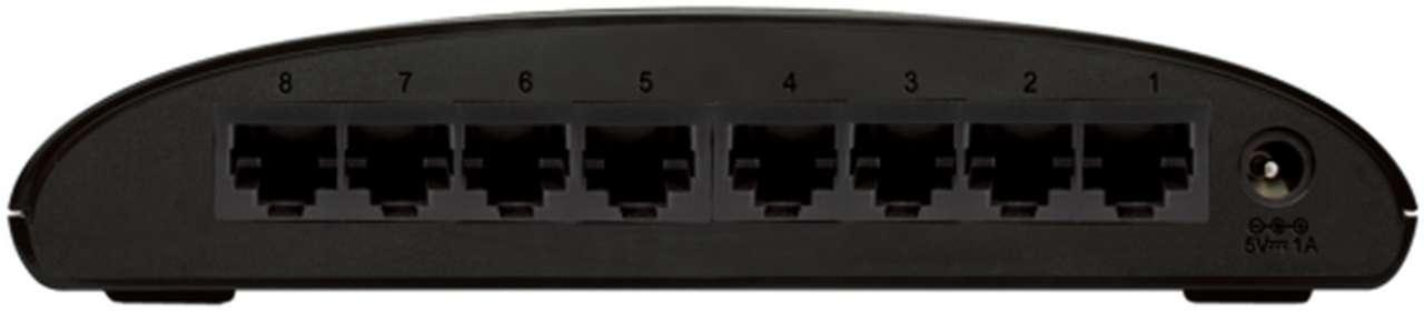 D-Link Switch 8-port 10/100 DES-1008D/E