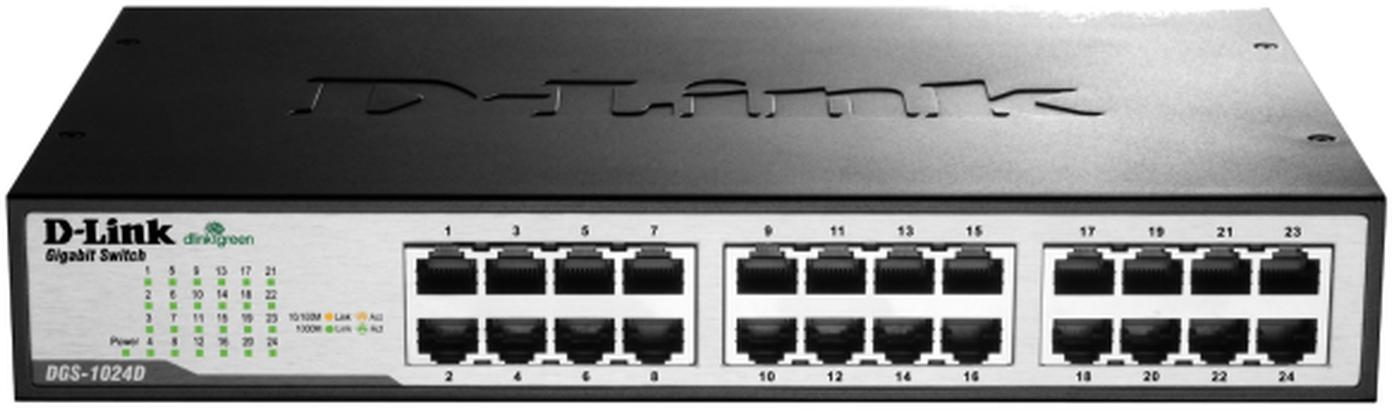 D-Link Switch 24-port 10/100/1000 DGS-1024D/E