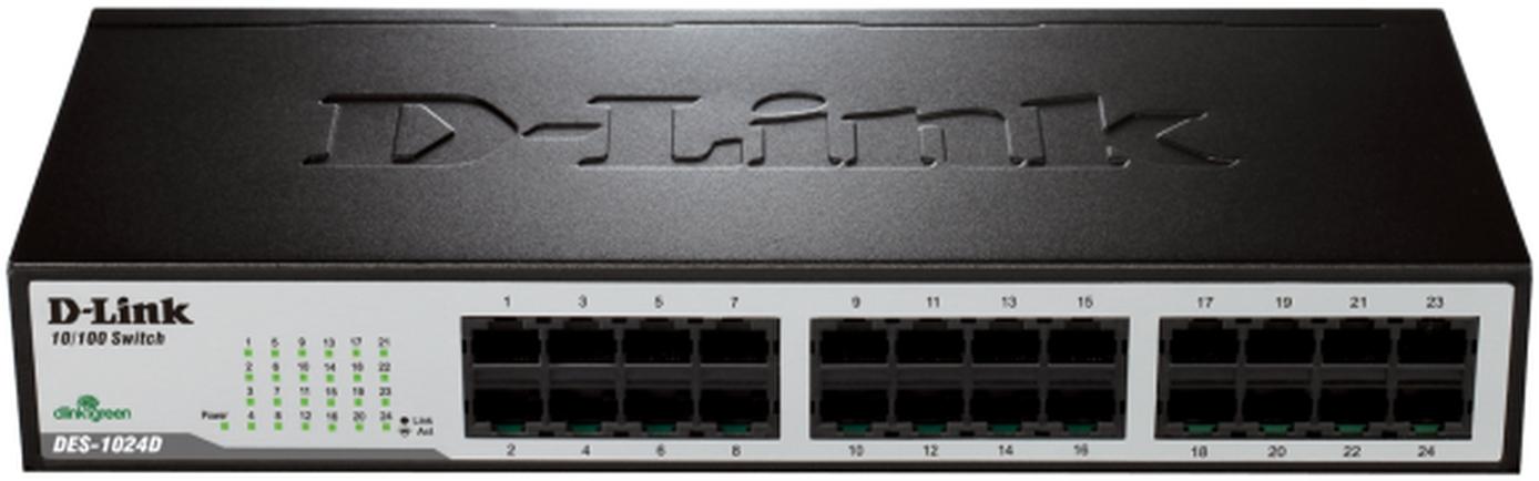 D-Link Switch 24-port 10/100 DES-1024D/E