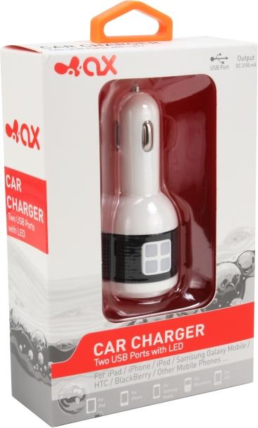 InnoAX USB KFZ Ladeadapter für CAPTIVA PADs