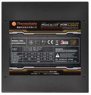 PC- Netzteil Thermaltake Smart  SE 630W