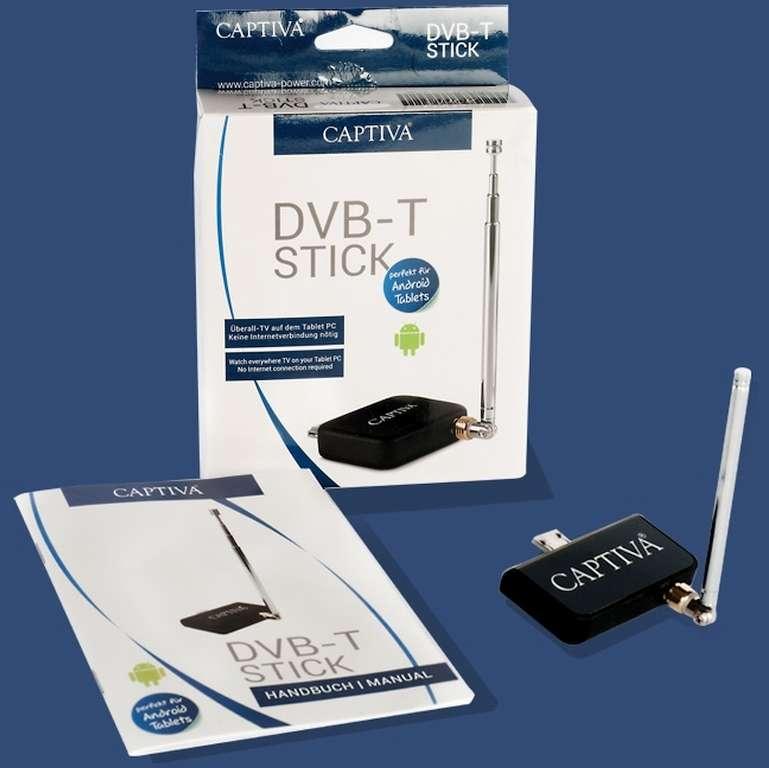 Captiva USB DVB-T Stick Android - VPE 5 Stk.