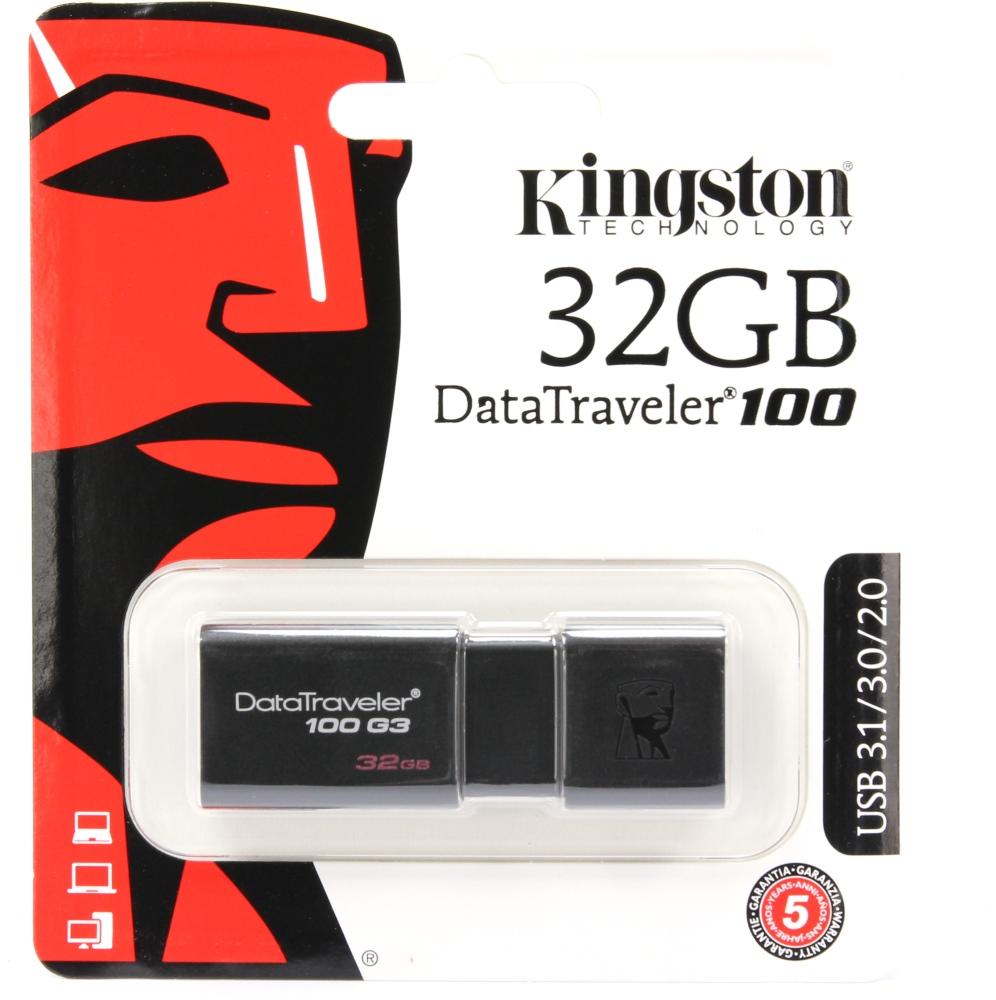 USB Stick 32GB Kingston DT100G3 USB 3.0 DT100G3/32