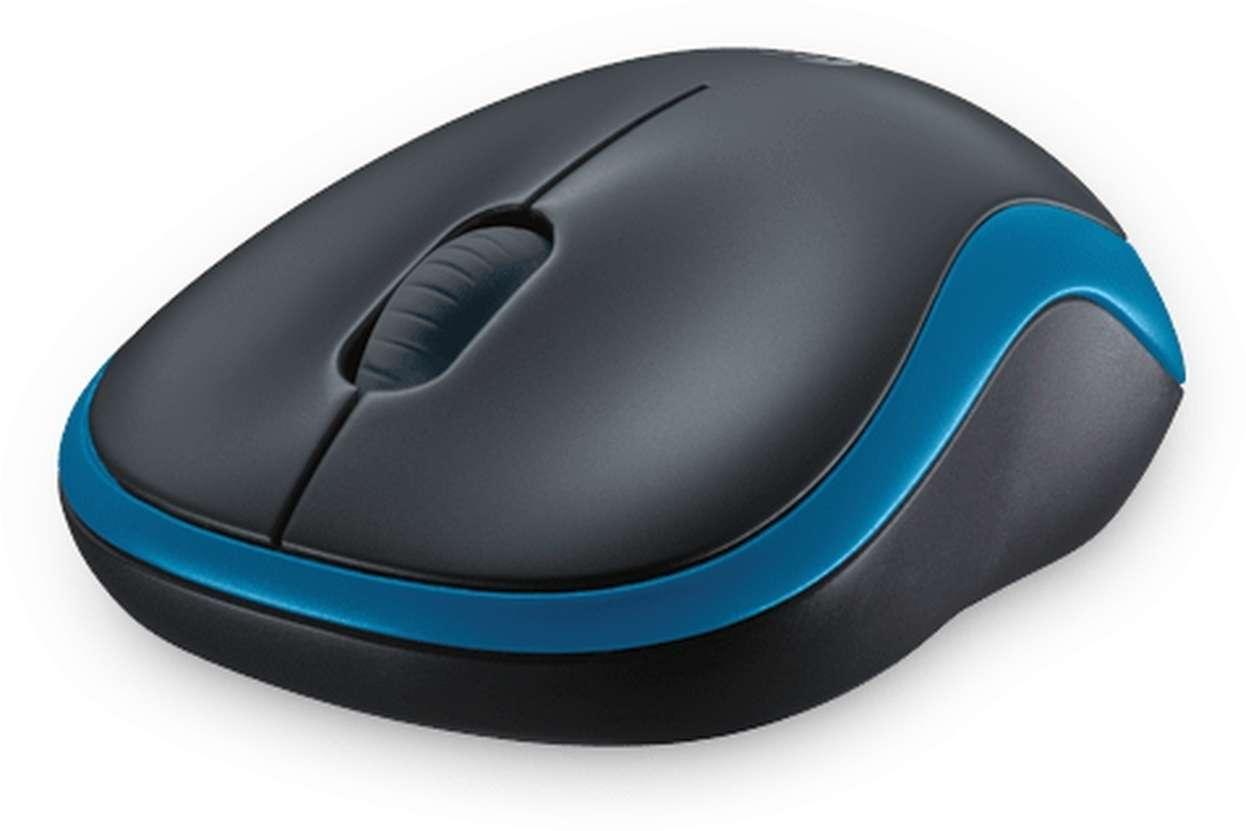 Mouse Logitech M185 Wireless blue