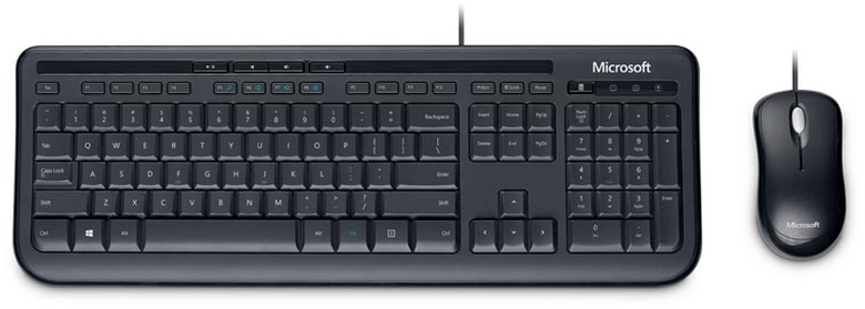 Keyboard & Mouse Microsoft Wired Desktop 600 (APB-00008)
