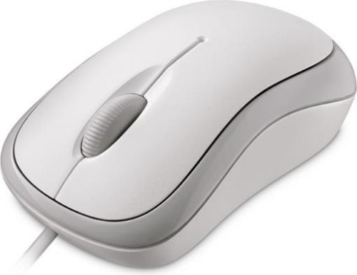 Mouse Microsoft Basic Optical for Business white USB (4YH-00008)