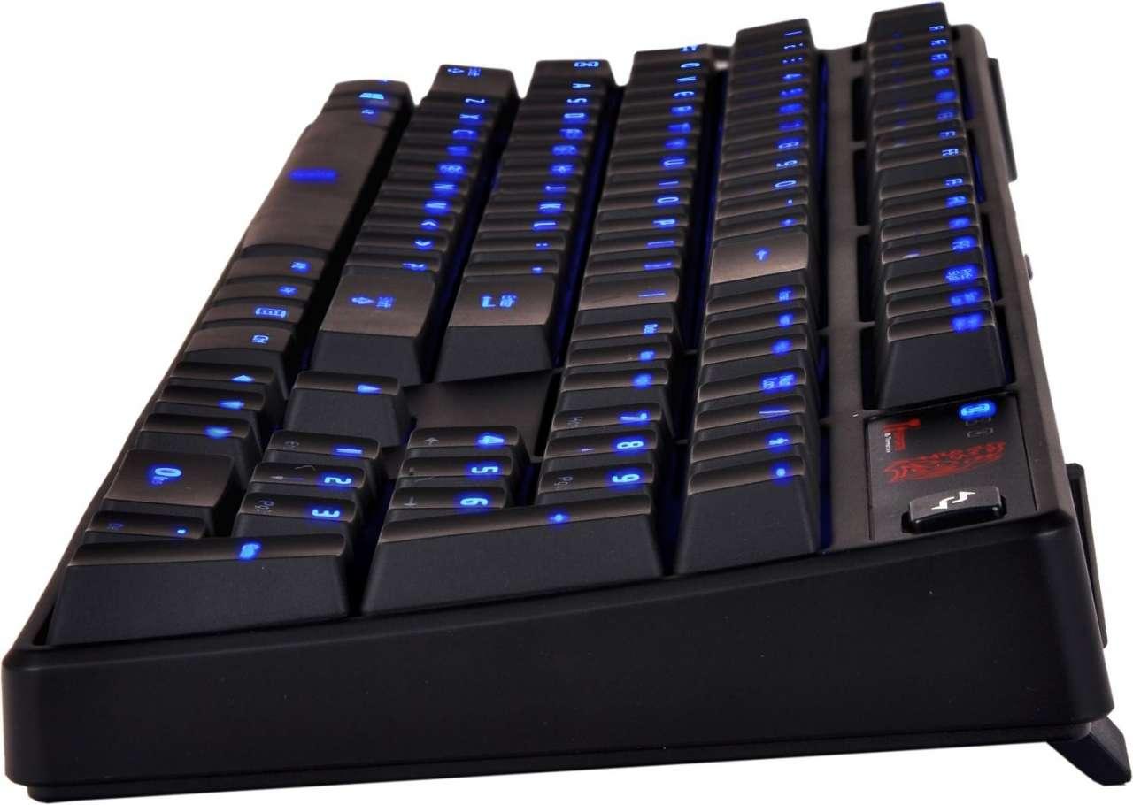 Keyboard Tt eSPORTS Poseidon Z Illuminated Certifite Blue Switch