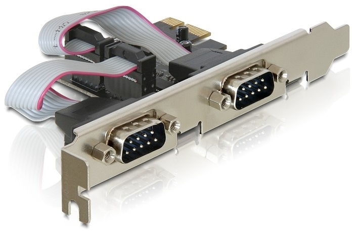 DeLock Express Card to 2x Serial