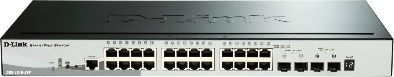 D-Link Switch Gigabit 28-port 10/100/1000 DGS-1510-28P