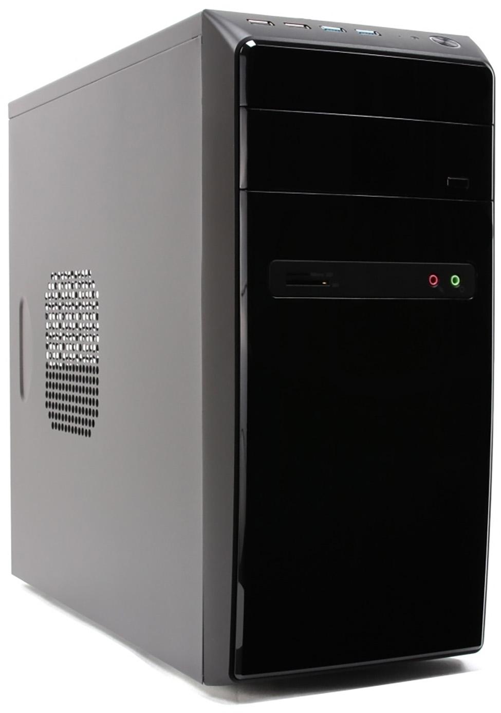 PC- Gehäuse Sohoo 6826 Micro-ATX Tower ohne Netzteil