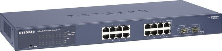 NETGEAR Switch Desktop 16-port 10/100/1000 GS716T-300EUS
