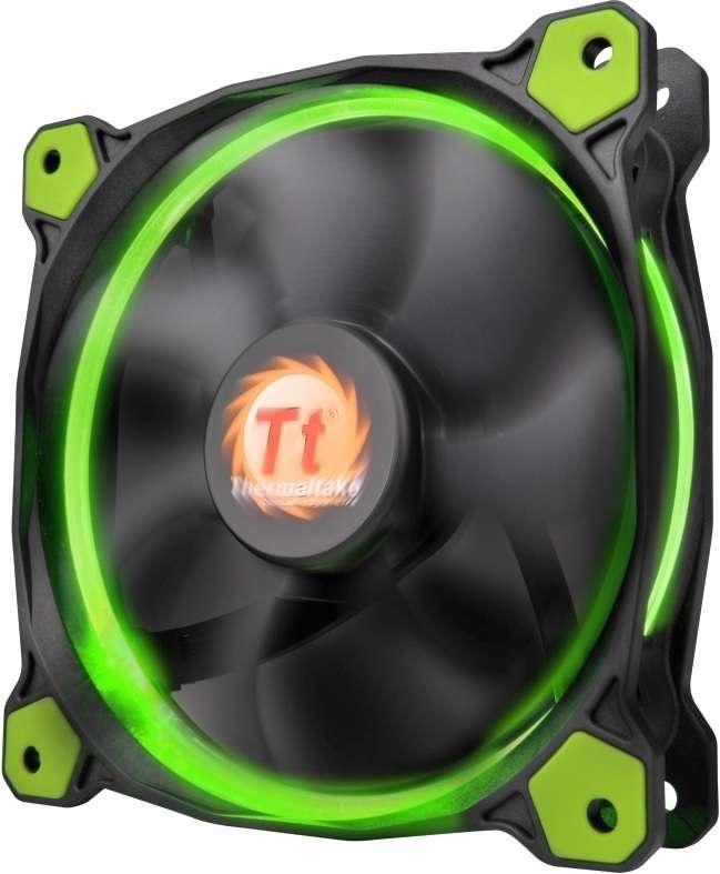 PC- Gehäuselüfter Thermaltake Riing 12 LED - Green