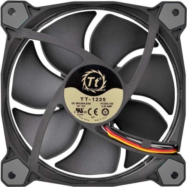 PC- Gehäuselüfter Thermaltake Riing 12 LED - White