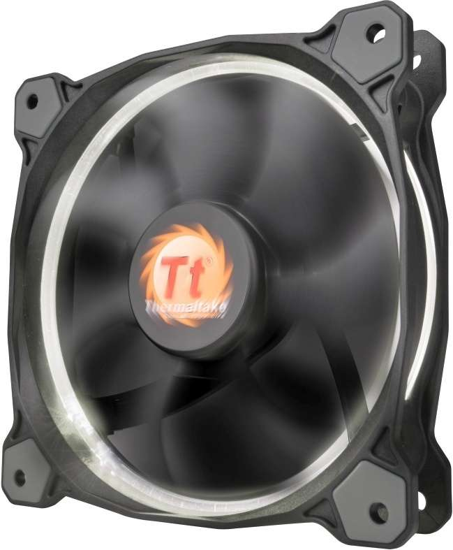 PC- Gehäuselüfter Thermaltake Riing 14 LED - White