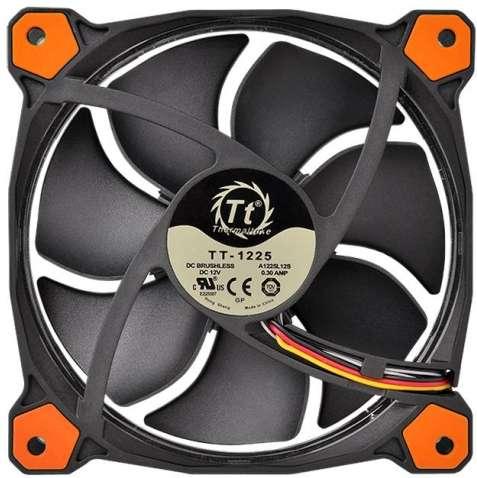 PC- Gehäuselüfter Thermaltake Riing 14 LED - Orange