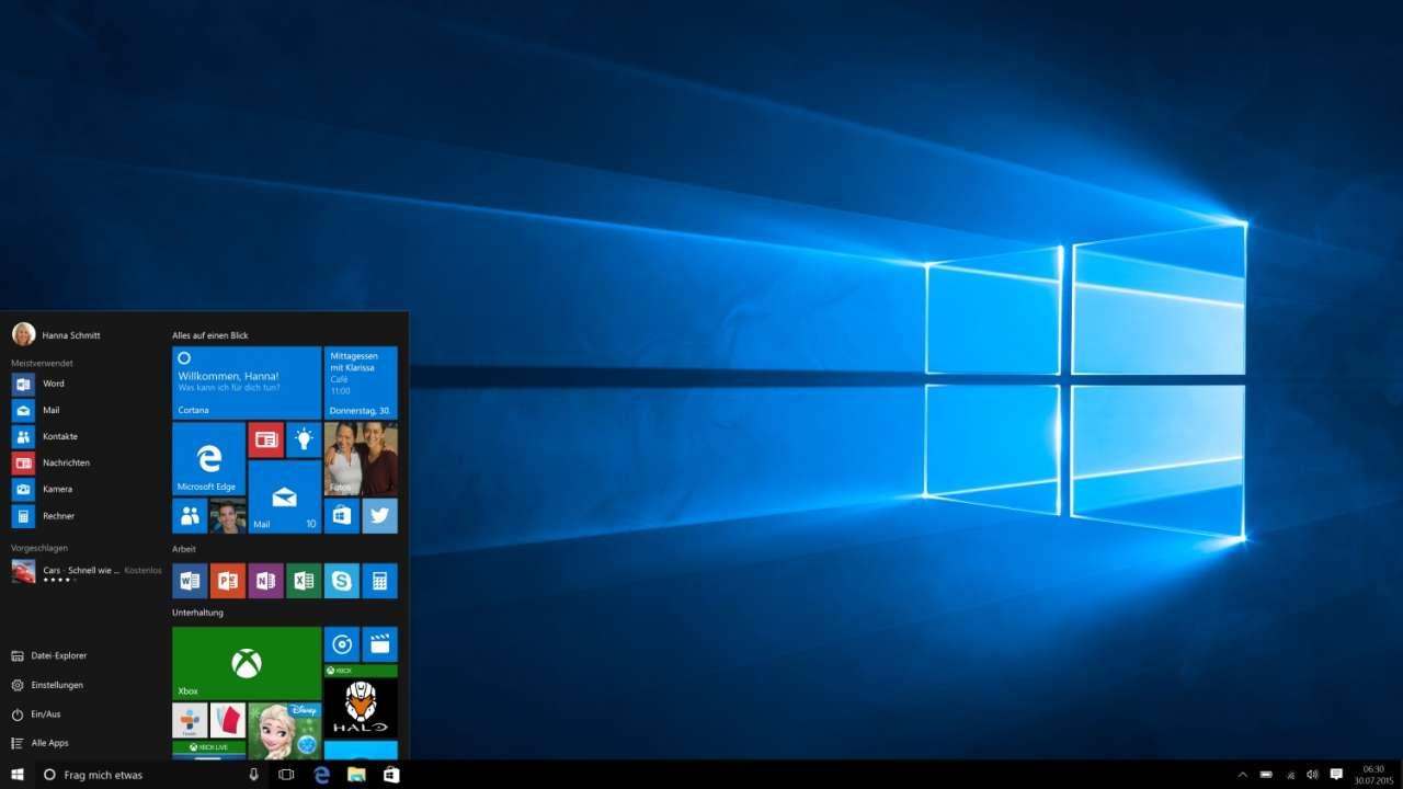 Microsoft Windows 10 Pro 64-bit deutsch (FQC-08922)