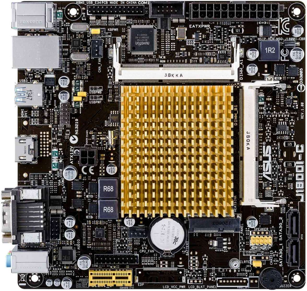 ASUS J1800I-C (Intel CPU on Board) (D)