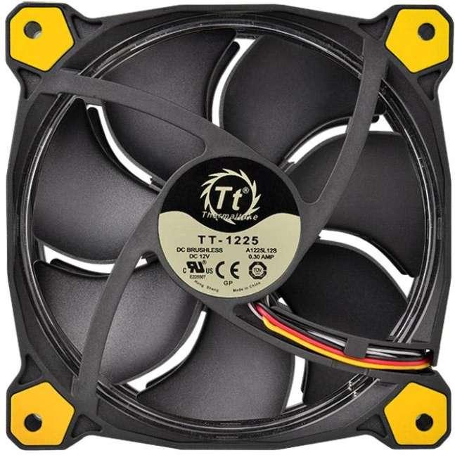 PC- Gehäuselüfter Thermaltake Riing 14 LED - Yellow