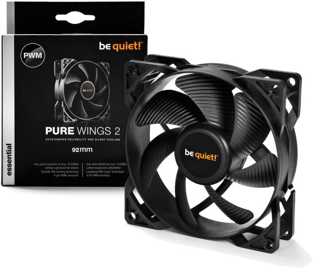PC- Gehäuselüfter Be Quiet Pure Wings 2 92mm PWM