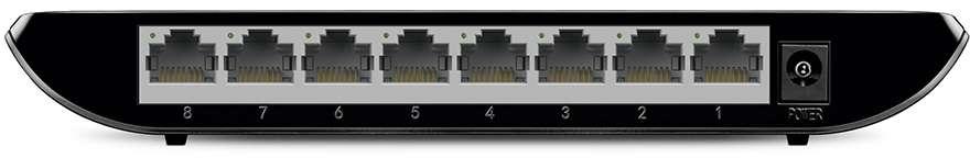 TP-Link Switcher Gigabit 8-port 10/100/1000M TL-SG1008D V8