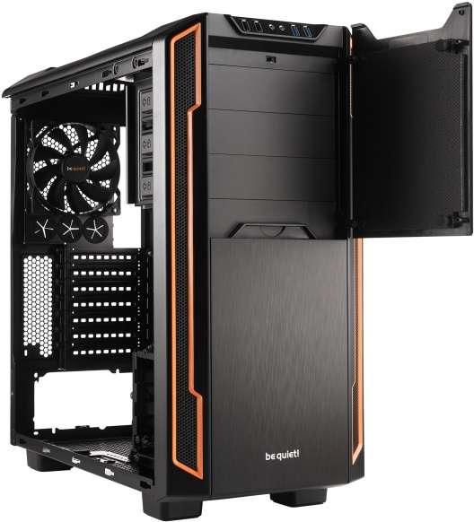 PC- Gehäuse BeQuiet Silent Base 600 mit Fenster - orange