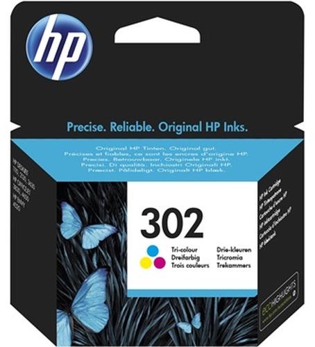 HP Tinte 302 Gelb,Cyan,Magenta F6U65AE