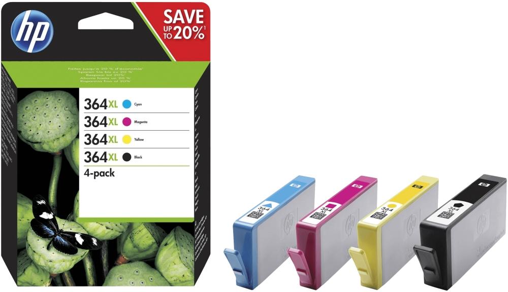 HP Tinte 364XL 4er Pack N9J74AE