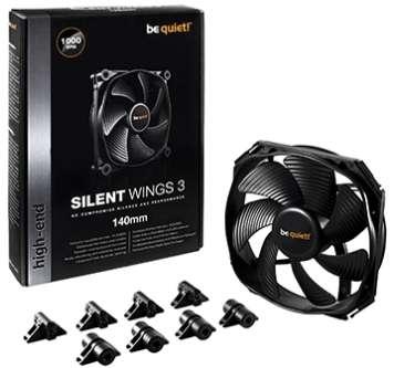 PC- Gehäuselüfter Be Quiet SilentWings 3 140mm