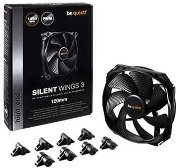 PC- Gehäuselüfter Be Quiet SilentWings 3 120mm PWM