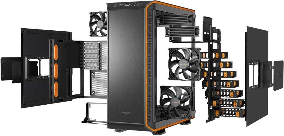 PC- Gehäuse BeQuiet Dark Base 900 - orange