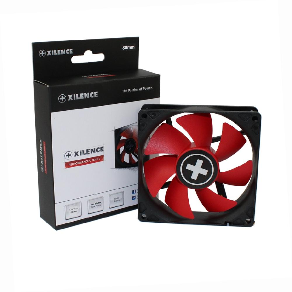 PC- Gehäuselüfter XILENCE Performance C case fan 80 mm, XPF80.R