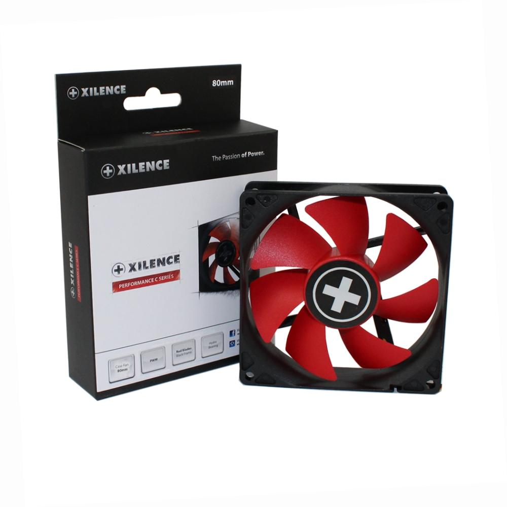 PC- Gehäuselüfter XILENCE Performance C case fan 80 mm, PWM, XPF80.R.PWM