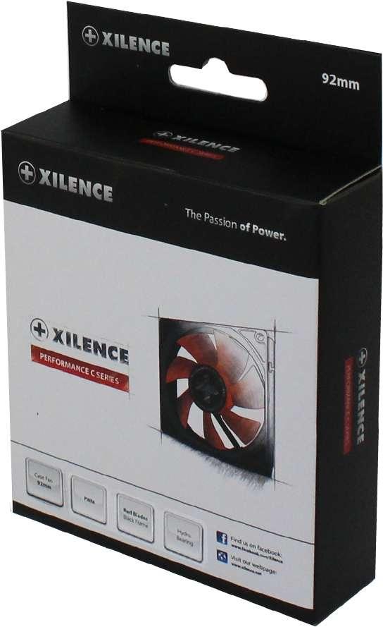 PC- Gehäuselüfter XILENCE Performance C case fan 92mm, PWM, XPF92.R.PWM