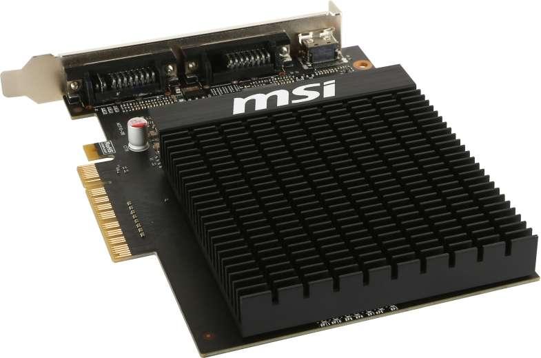 VGA MSI GeF. GT710 2GD3H H2D