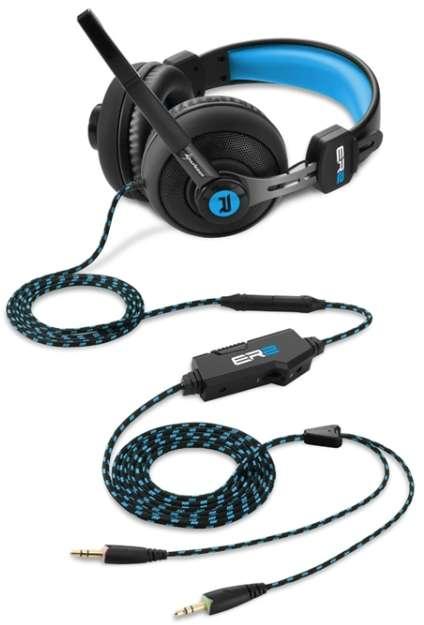 Headset Sharkoon Rush ER2 Blau