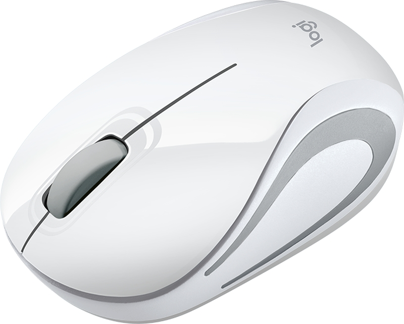 Mouse Logitech M187 Wireless weiß (910-002735)