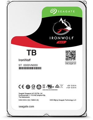 HDD Seagate IronWolf NAS ST1000VN002 1TB Sata III 64MB (D)