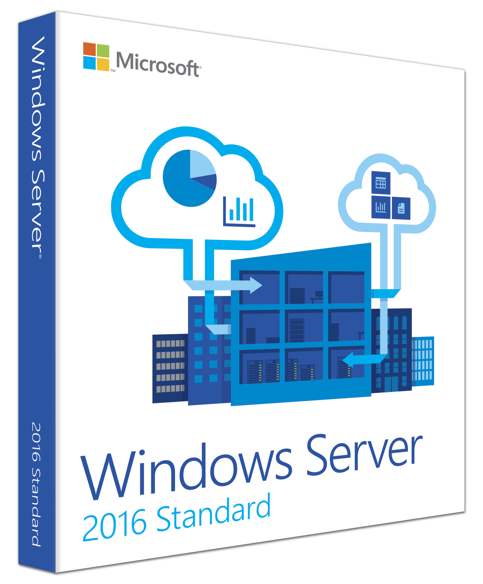 Microsoft Windows Server Standard 2016 16 Core deutsch (P73-07115)